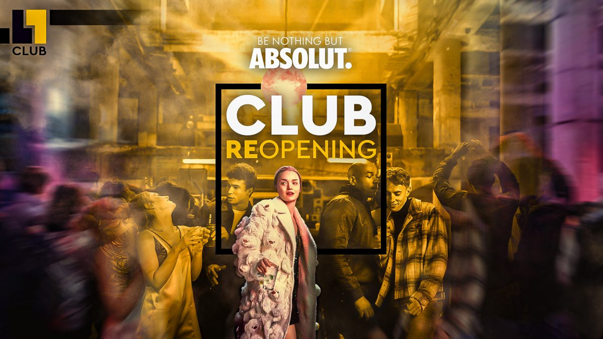 SA/07/09/19 – CLUB L1 REOPENING w/ ABSOLUT