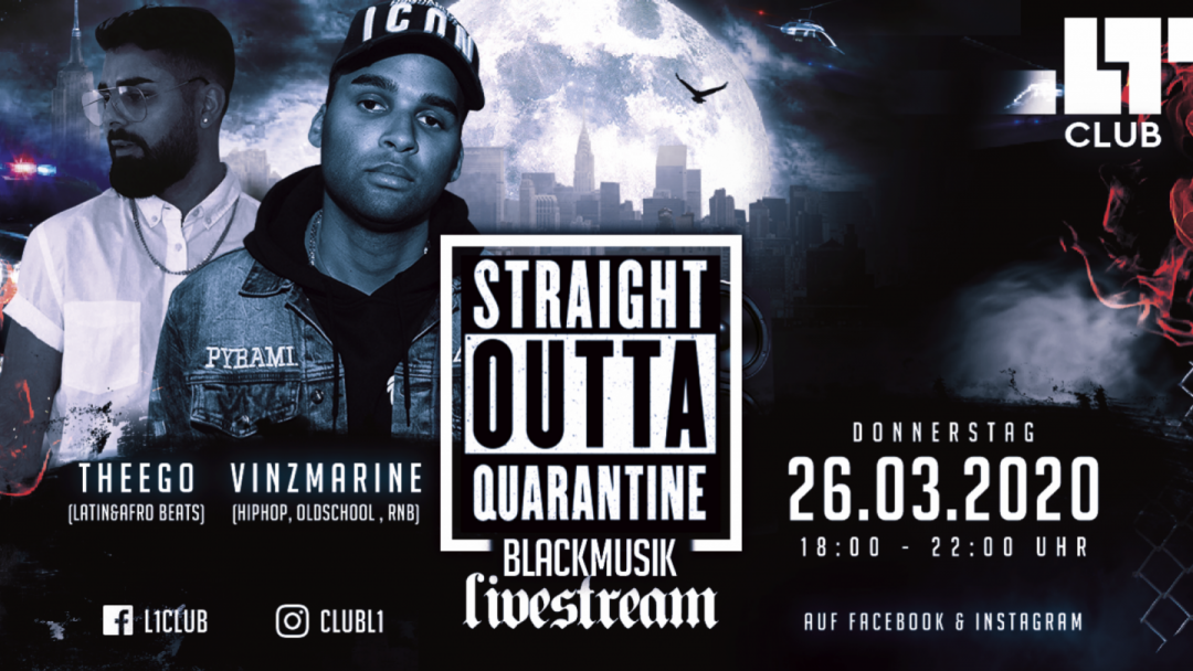 DO/26/03/20 – Black Music Livestream/ w VinzMarine & TheEgo