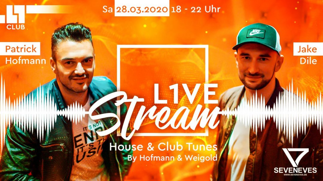 SA/28/03/20 – L1ve Stream – House & Club Tunes by Hofmann & Weigold